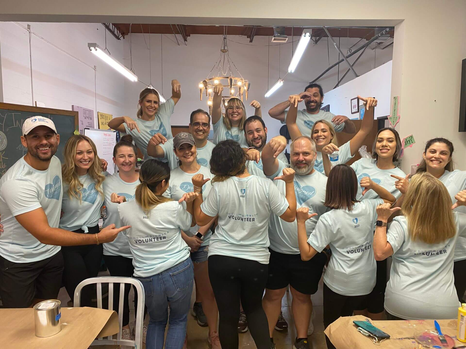 PF Dental Marketing team volunteers at Dwell with Dignity